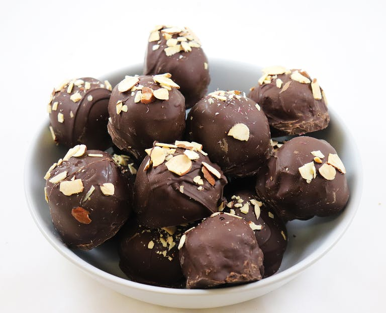 a chocolate dessert on a plate