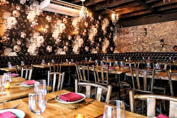 romantic quaint dining room