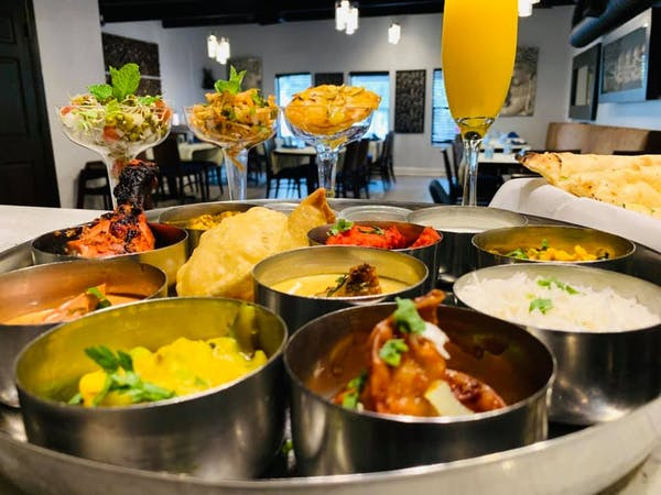 What's special about the Indian food menu at Mynt Orlando?