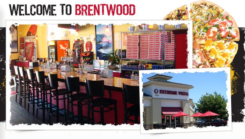 interior pictures of the Brentwood Extreme Pizza