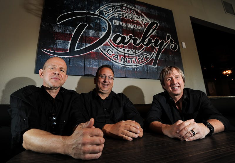Darby's restaurant team