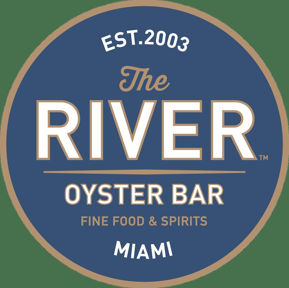 the river oyster bar fine food & spirits logo