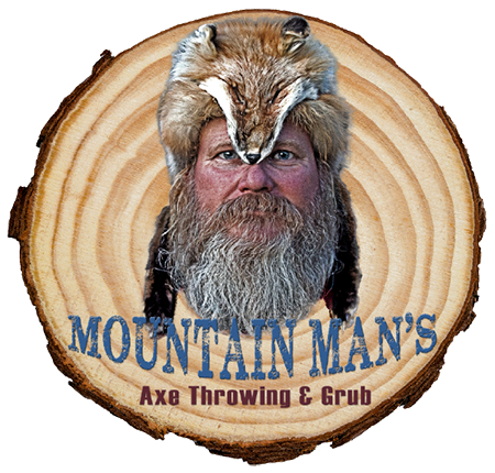 Mountain Man's Axe Throwing & Grub Home