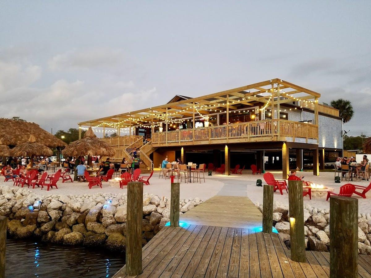 a restaurant's dock