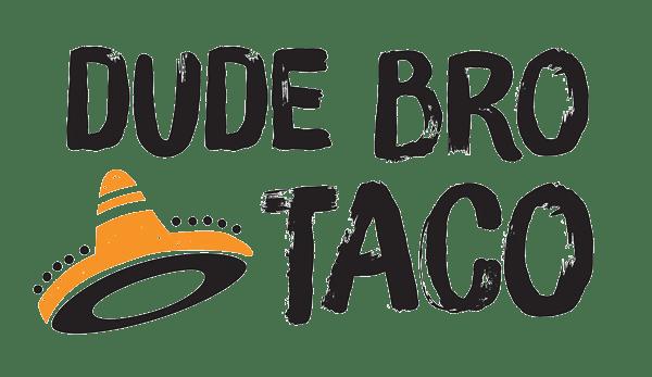 Dude Bro Taco logo
