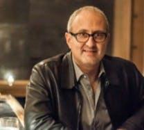 a man wearing glasses