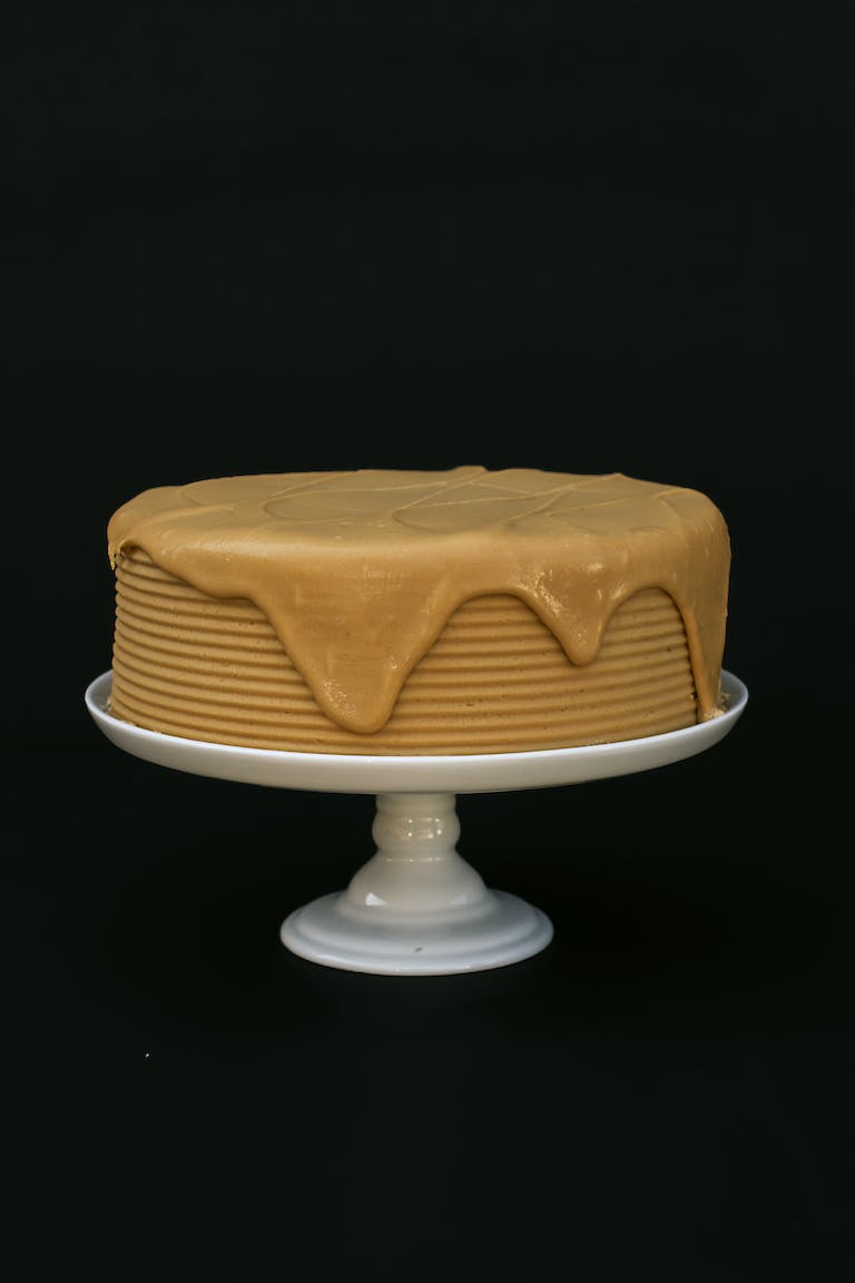 a cake sitting on top of a table