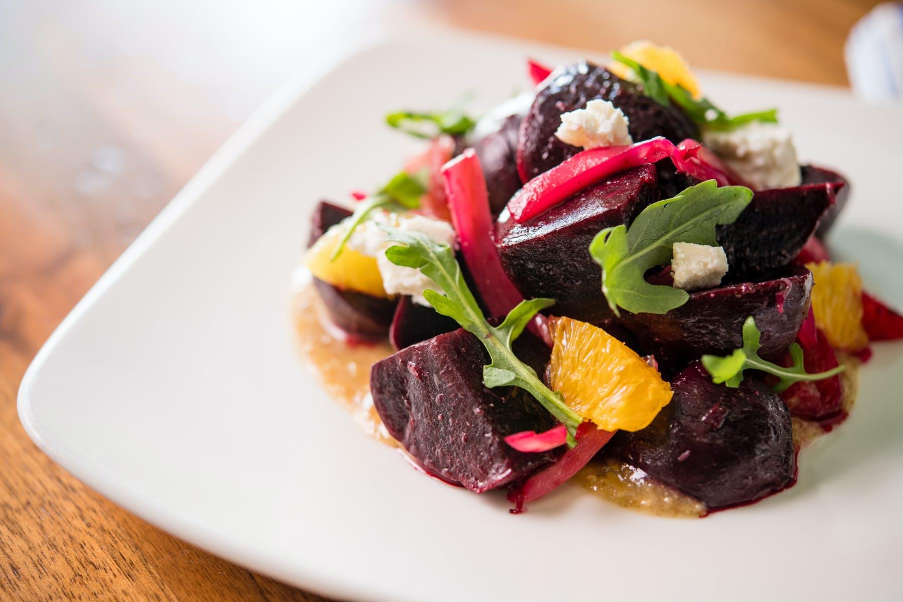 a beet salad