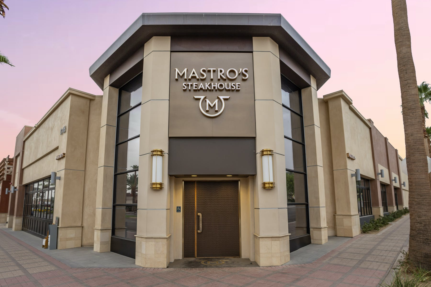 mastro's building entrance