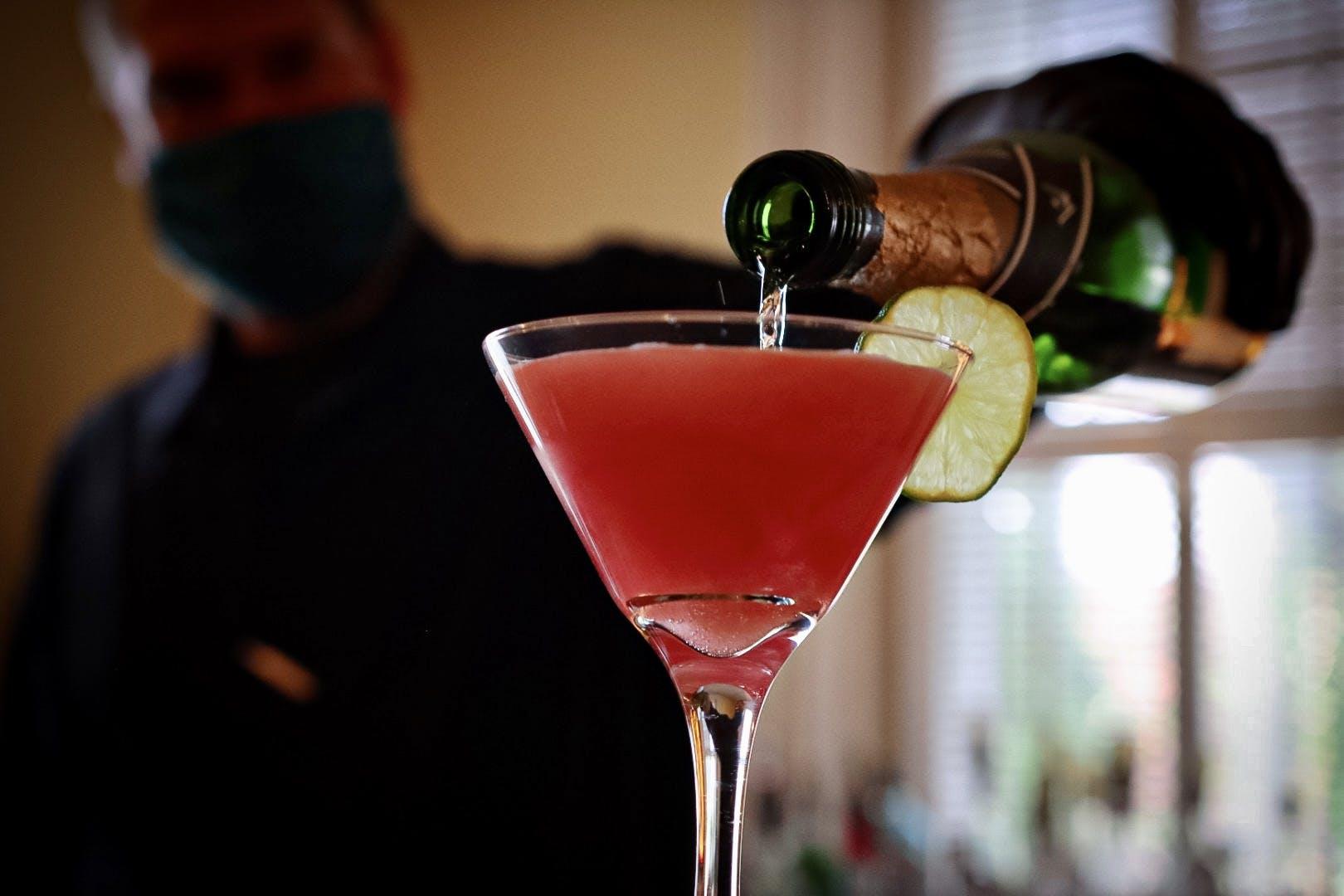 Fresh Pomegranate Martini