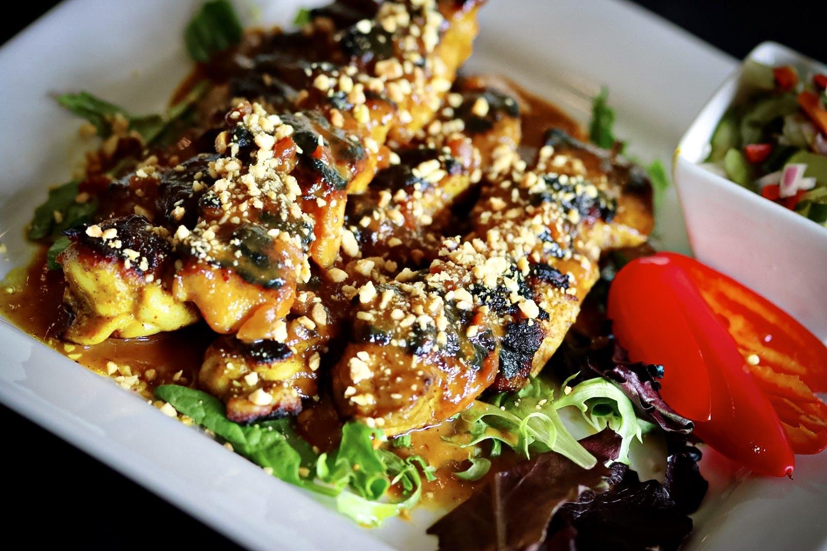Grilled Indonesian Satays