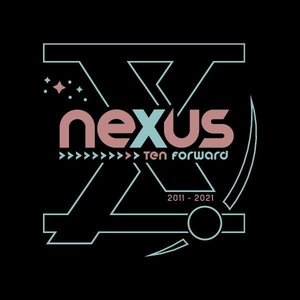 nexus brewery's 10th Year Anniversary Logo