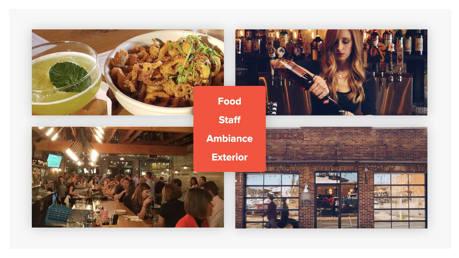 Use high-resolution restaurant photography to capture the ambiance for the restaurant website and Google My Business