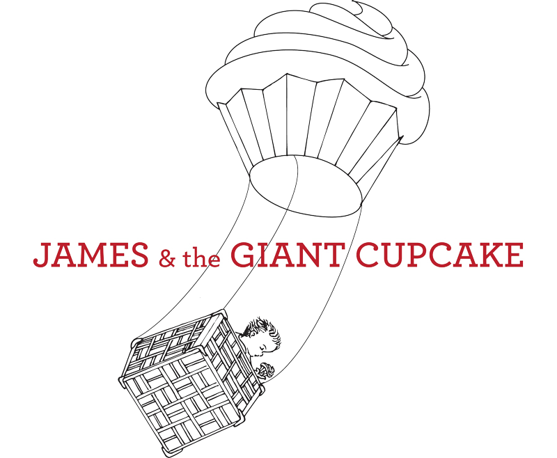 James & The Giant Cupcake Home