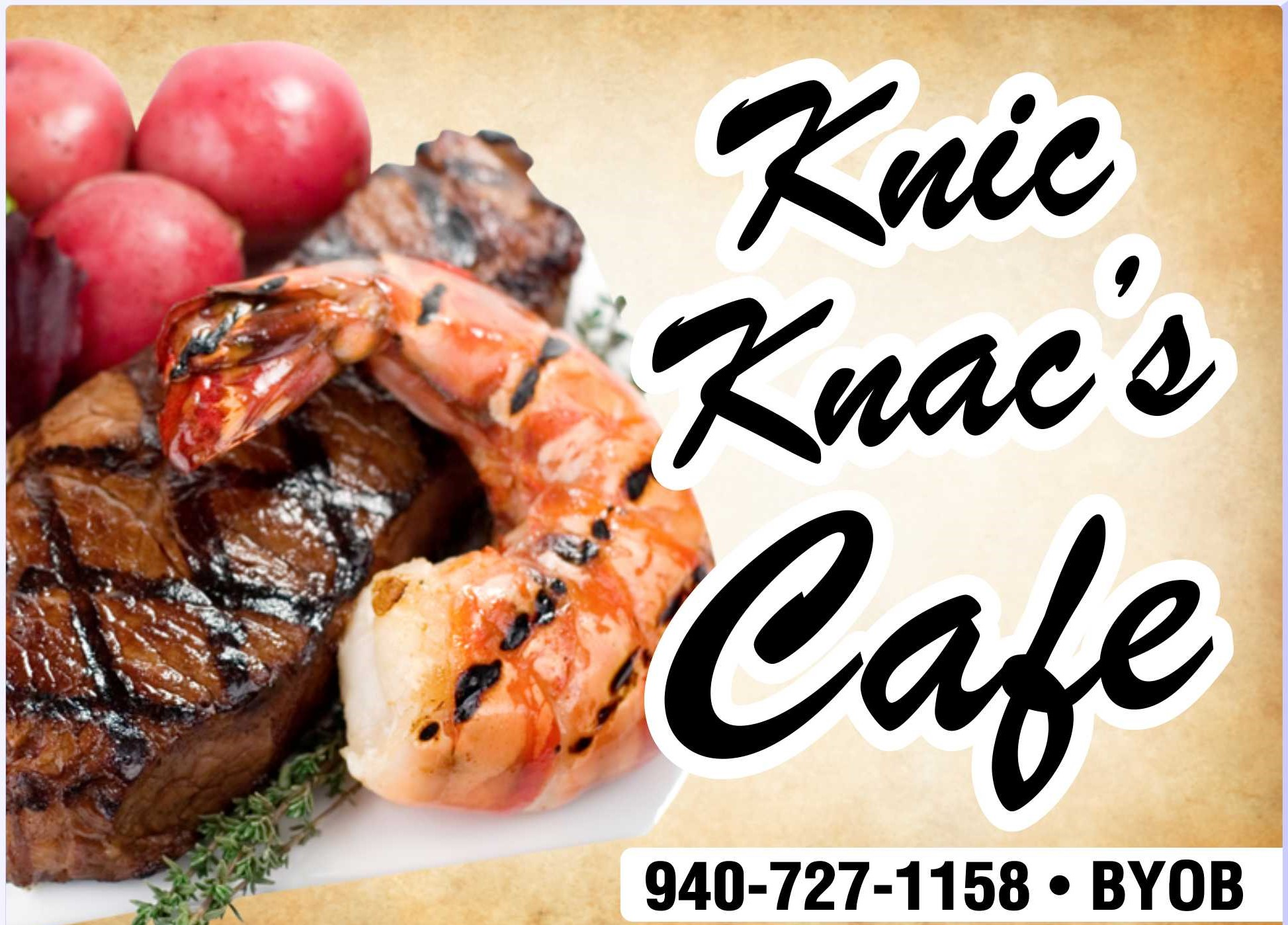 Knic Knacs Cafe Home