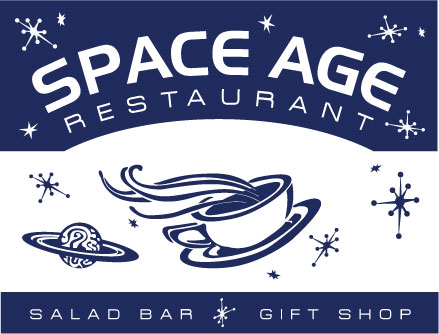 Space Age Restaurant Home