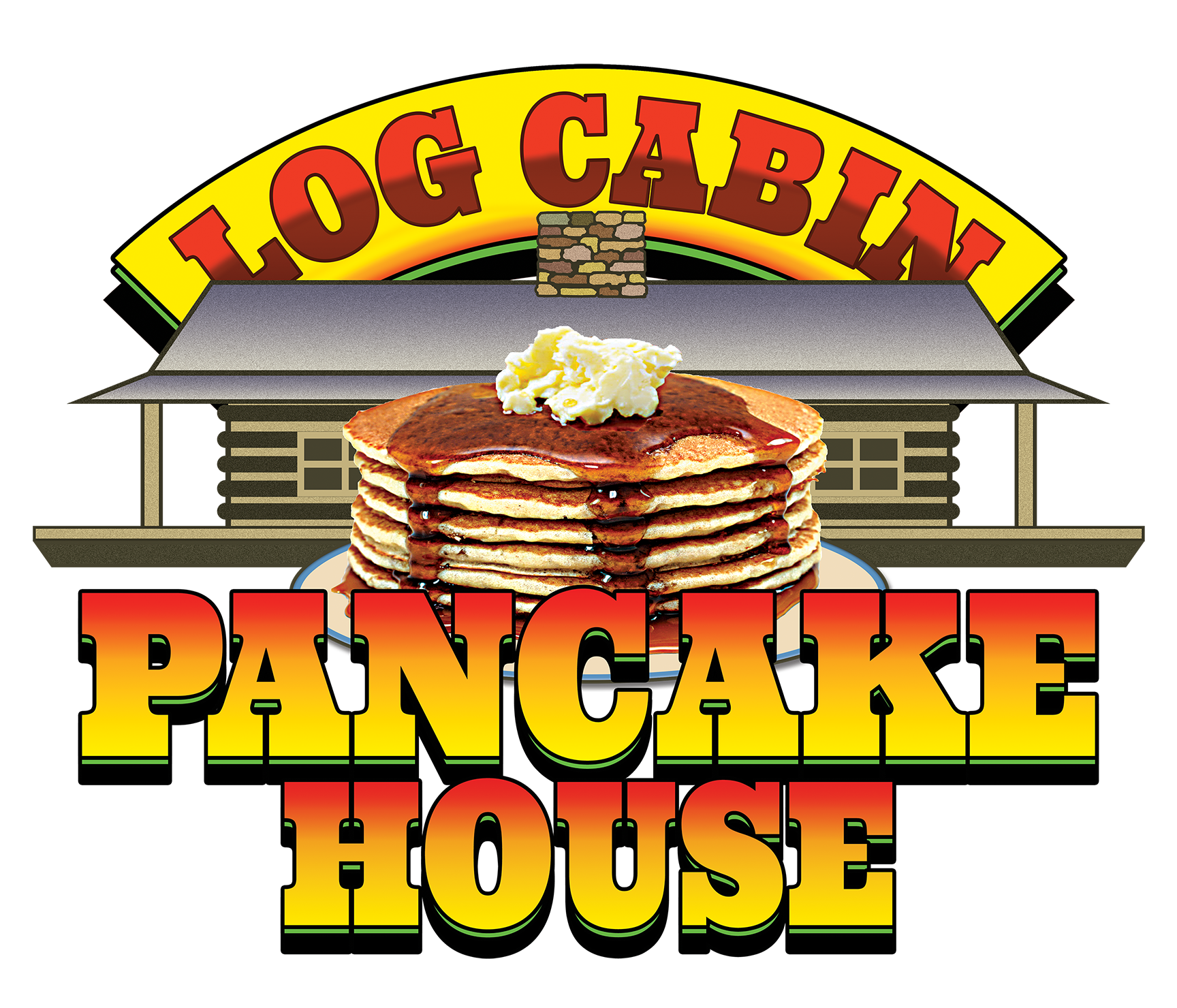 Log Cabin Pancake House Home
